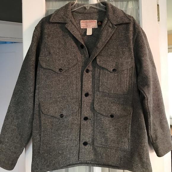 f995c0e03 Filson Mackinaw Cruiser Wool Coat